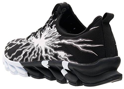 À Lacets Joomra Noir 0yz5 Homme Chaussures De Baskets Sport Running OpfTYwqp