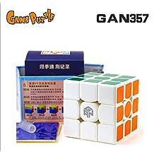 Kingcube Gans 357 3x3 White Magic cube GAN 357 3x3x3 white 57mm Speed cube puzzle