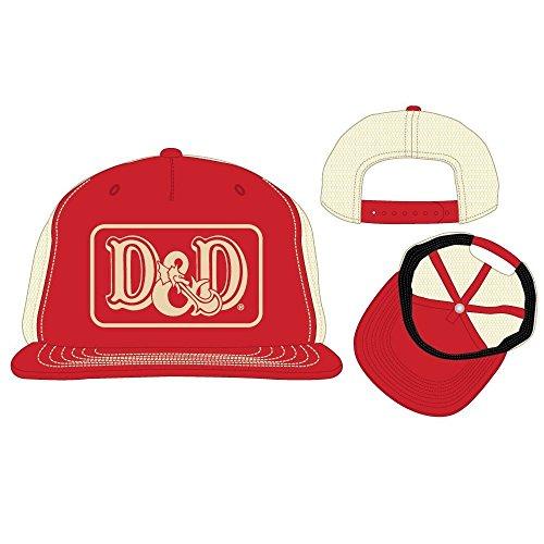 e2bef8b720d bioworld Dungeons and Dragons D D Logo Patch Trucker Snapback Baseball Hat  Cap