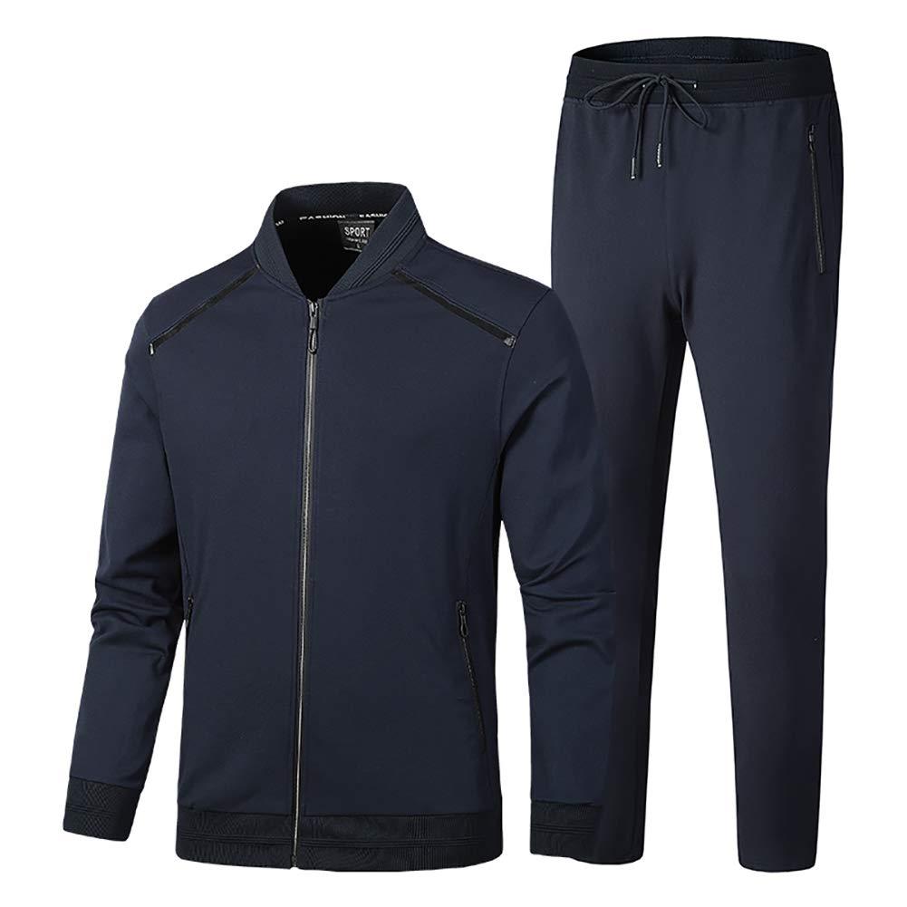 SUSIELADY Herren Jogginganzug Trainingsanzug Fitness Anzug Joggers Kapuze
