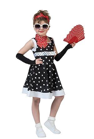 Diva Kleid 50er Jahre Kostüm Damen Hollywood Verkleidung 60er Kostüme & Verkleidungen