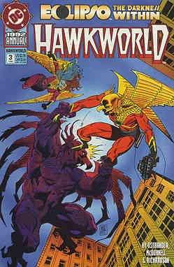 Hawkworld Annual #3 VF/NM ; DC comic book