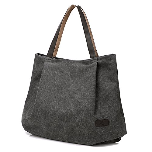 Work Shoulder Handbag For Bag Travel Bags Bags Grey Bags Shopping Casual Women Purse Hobo Canvas Bags Big Tote SwnAIxxEP