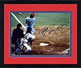 "Framed Mike Schmidt Philadelphia Phillies Autographed 8"" x 10"" 1980 World Series Home Run Photograph - Fanatics Authentic Certified"