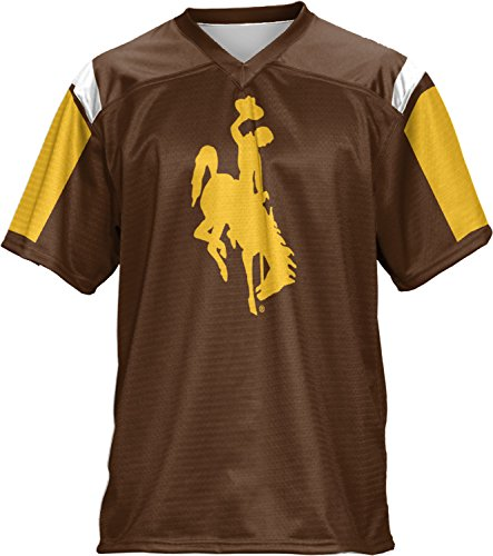 Price comparison product image ProSphere Boys' University of Wyoming Thunderstorm Football Fan Jersey (Apparel)