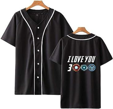 Camiseta Creativo Te Amo 3000 Impresión Corto Manga Camiseta ...
