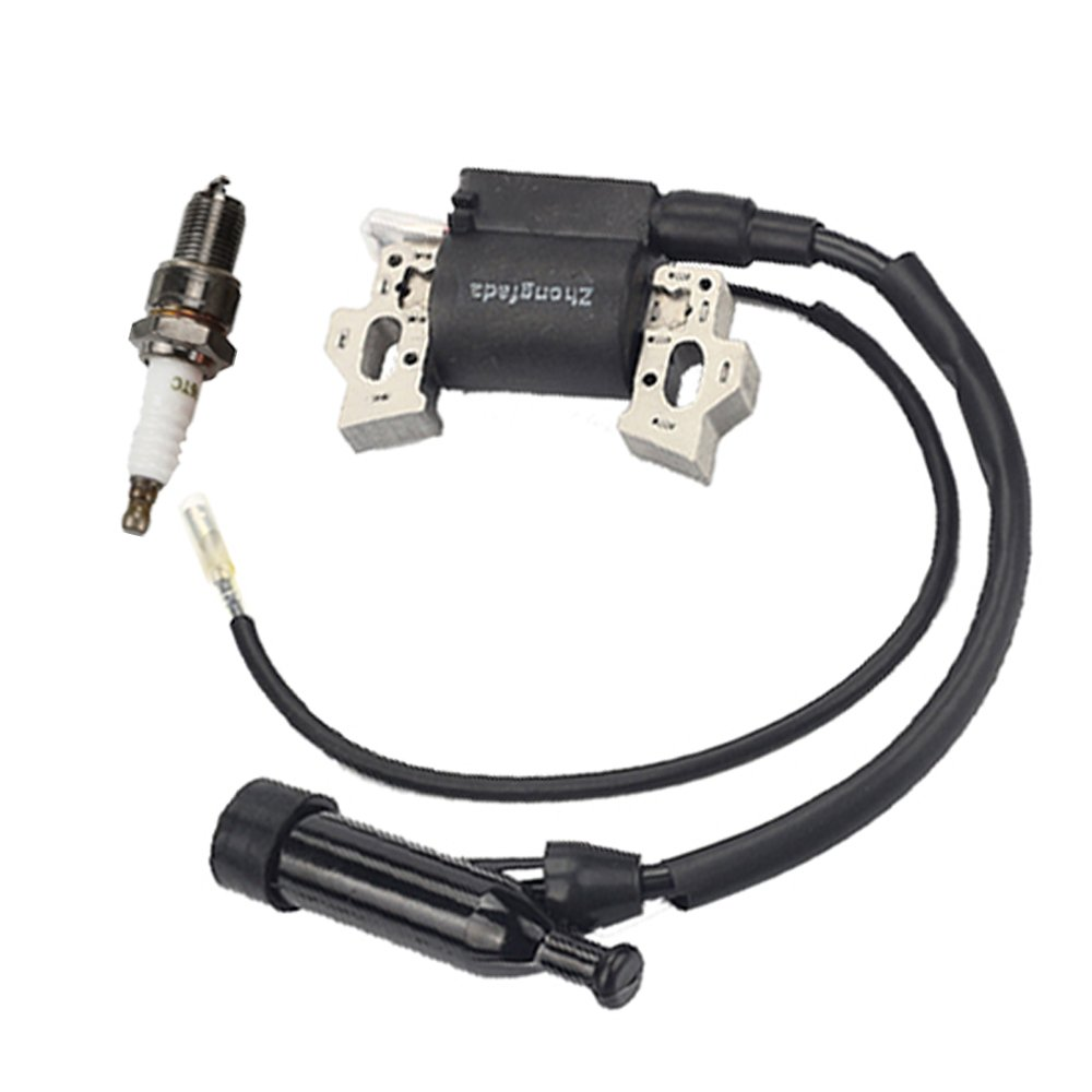 HIPA Ignition Coil with Spark Plug for Harbor Freight Predator 212cc 6.5HP OHV Horizontal Engine 69730 69727 Go Kart