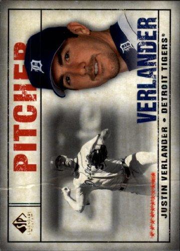 2008 SP Legendary Cuts Baseball Card #45 Justin Verlander Near Mint//Mint