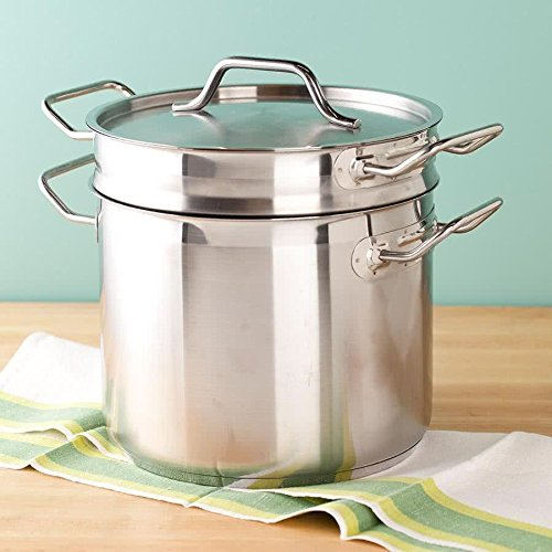 20 Qt Stainless Steel Clad Double Boiler By TableTop King