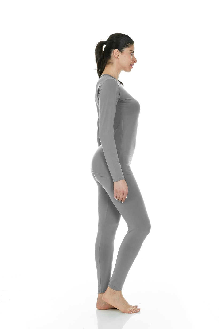 30817d2e Thermajane Women's Ultra Soft Thermal Underwear Long Johns Set with Fleece  Lined (X-Large, Grey) - LYSB019X2NHKK-SPRTSEQIP < Sets < Clothing, ...