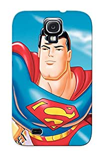 First-class Case Cover For Galaxy S4 Dual Protection Cover Superman The Animated Eries