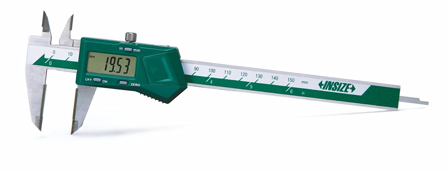 0-6//0-150 mm INSIZE 1110-150A Electronic Caliper with Carbide Tipped Jaws