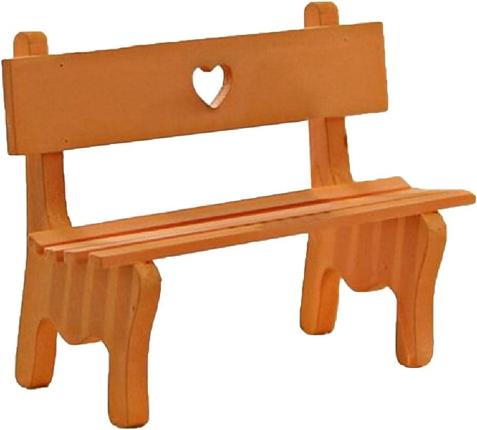 Mini Garden Wooden Chair Bench Model Doll House Decor Photo Props Kids Toys garden decorations outdoor christmas for halloween decoration party wall xmas sale in the night cake accessories neon llama