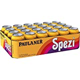 Set of 24 Paulaner Spezi Soda ( 0.33 l - 11.16 flOz ) Tin Can (no alcohol)