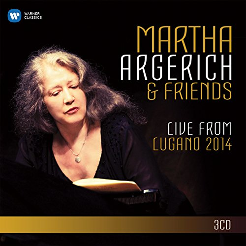 CD : Martha Argerich - Live from the Lugano Festival 2014 (CD)
