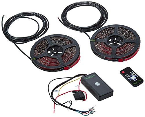 Boogey Lights KRV-VS-MC-BK-UGLOW-M7-SUPER Multi-Color Under-Glow LED Light Kit,1 Pack by Boogey Lights