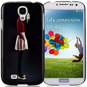 Fashion DIY Custom Designed Samsung Galaxy S4 I9500 i337 M919 i545 r970 l720 I9500 Phone Case For Swan Girl Phone Case Cover