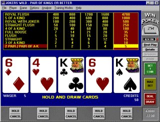 Video poker strategy software free cartable casino 2016