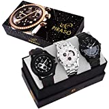 Piraso Times - Combo Set of 3 Watches for Boy's & Men's- PW3-20
