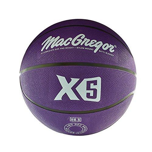 MacGregor Intermediate Size Multicolor Basketball, Purple -  Sport Supply Group, Inc., MCBBX516