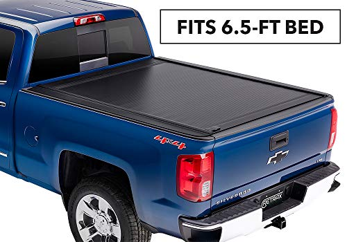 RetraxONE MX Retractable Truck Bed Tonneau Cover | 60462 | fits Chevy & GMC 6.5' Bed (14-18), 1500 Legacy/Limited (2019)& 2500/3500 (15-19)