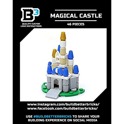 Build Better Bricks Magical Castle Kit: Toys & Games