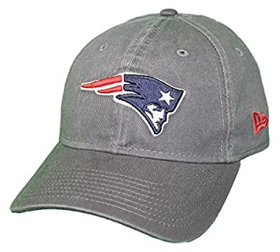 New Era New England Patriots NFL 9Twenty Core Classic Graphite Adjustable Hat by New Era