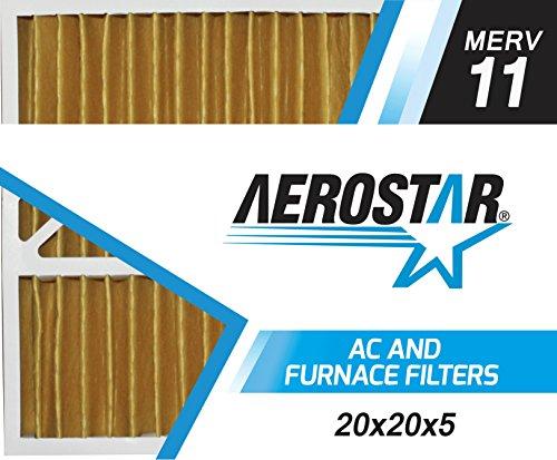 Aerostar 20x20x5 MERV Pleated Filter
