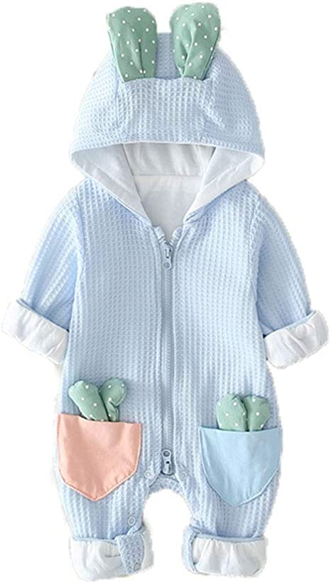 ZZTHJSM Mameluco Recién Nacido Bebé Pijama de Algodón Niños Pelele Mono Manga Larga Trajes Primavera Otoño Infantil 0-12 Meses: Amazon.es: Deportes y aire libre