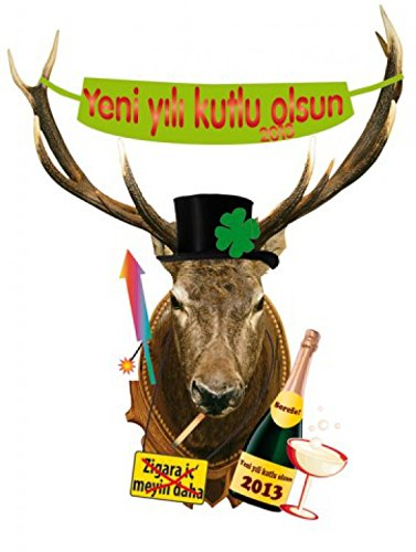 new-years-eve-poster-sticker-wall-tattoo-deer-head-yeni-yili-kutlu-olsun-in-turkish-59-x-46-inches