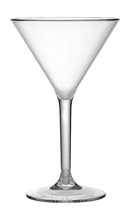 Garnet Coppa Martini Reutilizable - Juego de 6 piezas - Apto para ...