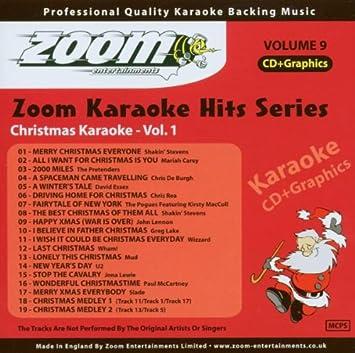 Christmas Karaoke Cd.Zoom Karaoke Zoom Karaoke Cd G Karaoke Hits 9 Christmas
