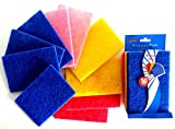 10 Pack Scouring Pads 4%22 x 6%22 Pots P