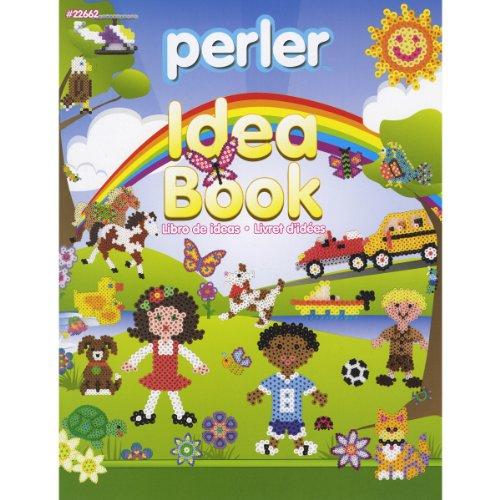 Perler Bead Patterns and Idea Book for Kids Crafts, 24 pgs -