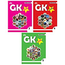 Gikso GK Star Combo of Class 3 4 and 5 Age 6-11 Years Old Kids Pack of 3 Books