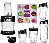 Nutri Ninja Auto iQ Pro Complete Blender 5 To Go Cups & 4 Lids | BL487 (Platinum) Review