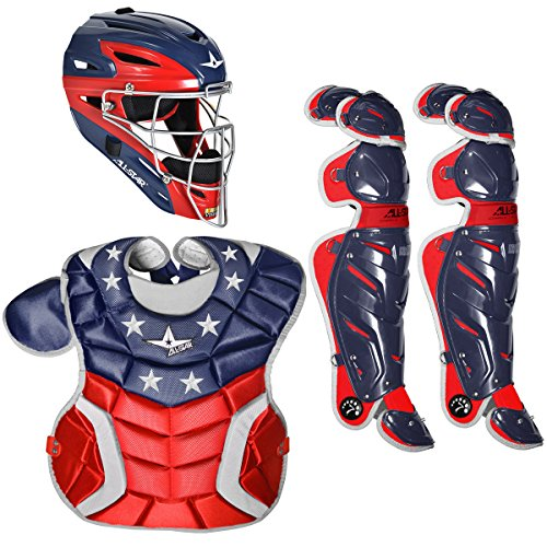 All-Star System Seven Pro USA Youth Baseball Catcher's Set