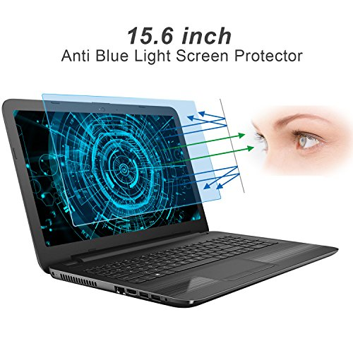 15.6 Inch Eye Protection Anti Blue Light Screen Protector for HP/DELL/Asus/Acer/Sony/Samsung/Lenovo/Toshiba with 16:9 Aspect Ratio Laptop (Protector Toshiba Laptop)