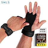 SHLs 2-Hole Gymnastics Grips & Hand Grips | Ultimate Palm Protector & Gymnastics Gloves for Crossfit, Physical Training, Weightlifting, Pull-up & Workout | Package of 2 For a Firmer & Natural Bar Grip
