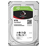 Seagate 8TB Ironwolf NAS SATA 6GB/s NCQ 256MB Cache 3.5-Inch Internal Hard Drive (ST8000VN0022) 3.5 Internal Bare/OEM Drive
