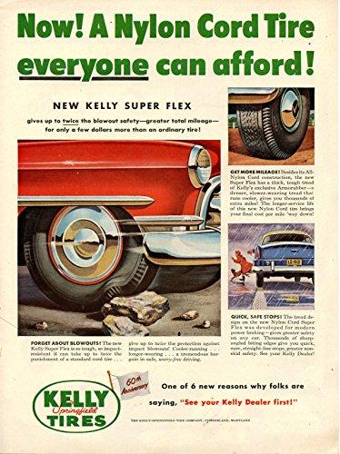 Vintage Kelly Tires Magazine Ad