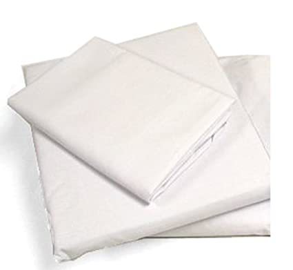 b07fde57a53d Amazon.com: Cot Sheets (Fitted, Flat, Sets), 4 Piece Cot Sheet and ...