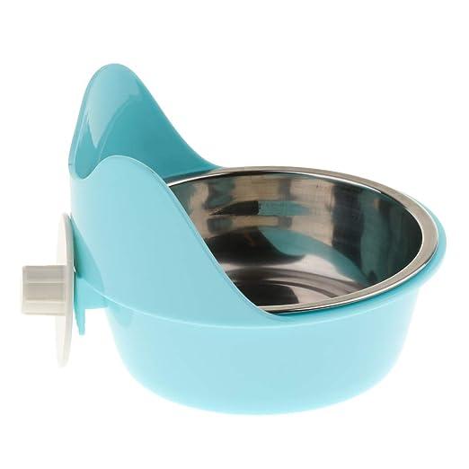 Sharplace Comedero Pequeño Recipiente de Agua Perro Accesorios de Animales Pequeño Fácil de Usar Elegante: Amazon.es: Hogar