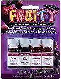 Lorann Oils 4 Fruity Flavors Dram Combo Pack