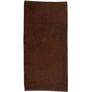 Kela Ladessa GUEST Towel, Cotton, Brown, 30 x 50 cm