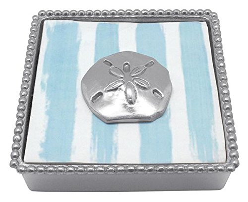 Silver One Size Mariposa 1943 Sand Dollar Napkin Weight