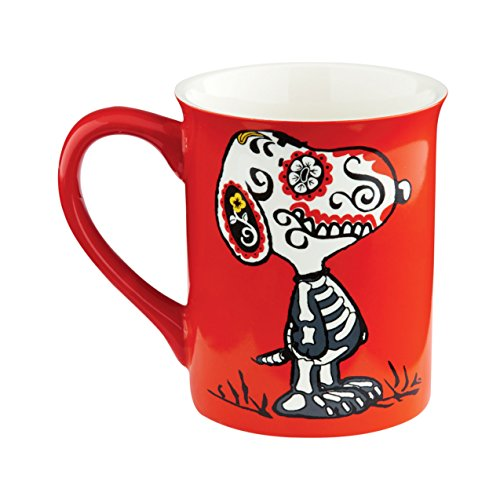 Department 56 Peanuts Christmas Black Day of The Dog (Department Mug)