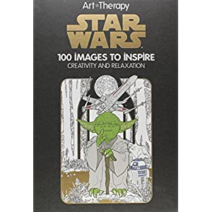 Art of Coloring Star Wars: 100 Images to Inspire Creativity and Relaxation Hardcover – November 10, 2015