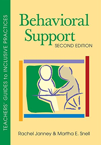 Behavioral Support (Teachers Guides to Inclusive Practices)
