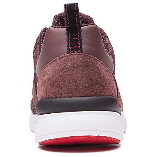 Supra Scissor Skate Schuh Mahagoni / Weiß